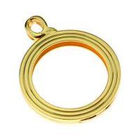 Prívesok (otvárací) pozlátený QUOINS QHO-15-G - L - Veľkosť prívesku: l