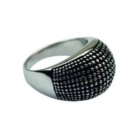 """Prsteň QUOINS """"Polka dots"""" ZRP-01-EE - 50 - Veľkosť prsteňa: 50"""