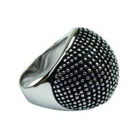 """Prsteň QUOINS """"Polka dots"""" ZRP-02-EE - 52 - Veľkosť prsteňa: 52"""