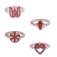 Set prsteňov PETRA TOTH 40-PRS-RR-MLV