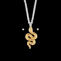 Náhrdelník TI SENTO s hadím vzorom 3923SY