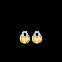 Prívesky na náušice TI SENTO so žltým kameňom 9206TY